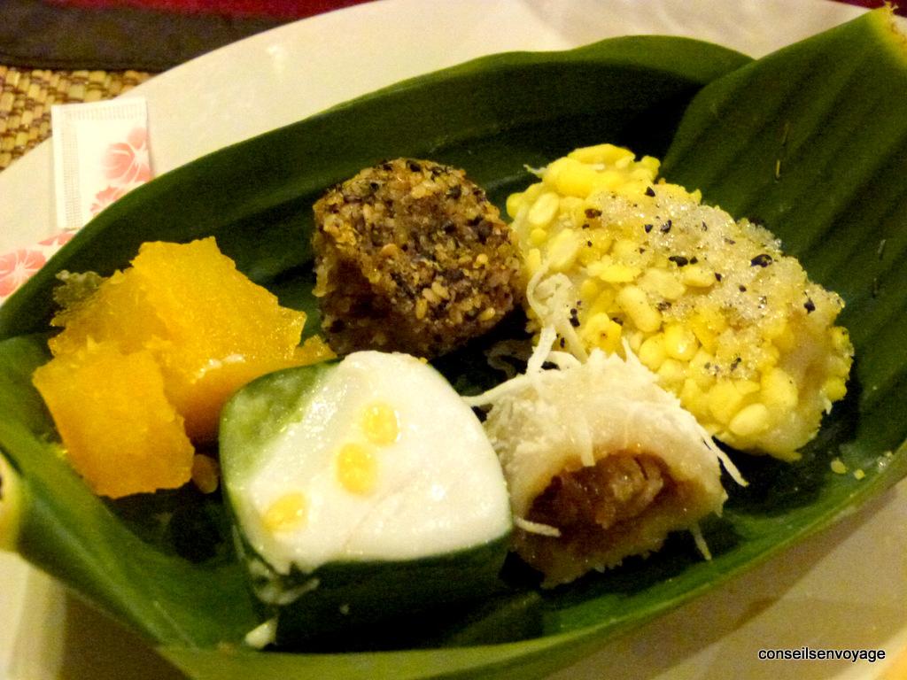 desserts thailandais