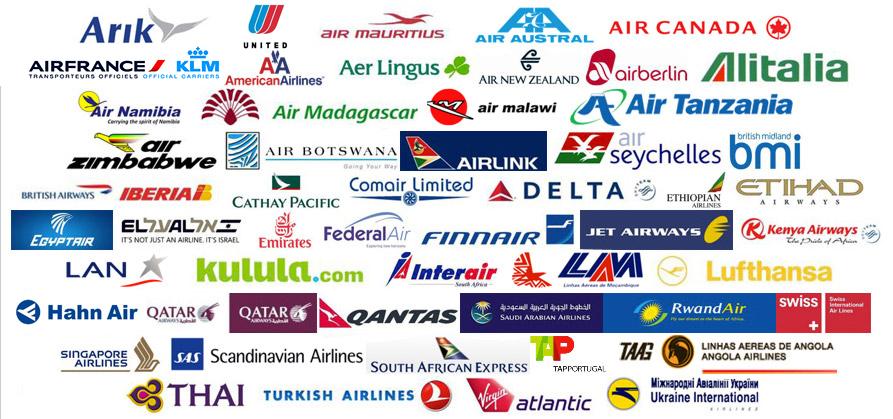 logos compagnies aériennes