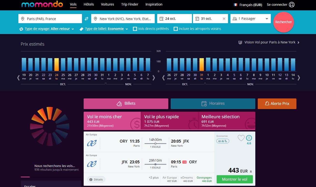 Quel est le meilleur site pour r server son billet d 39 avion for Meilleur site comparateur hotel