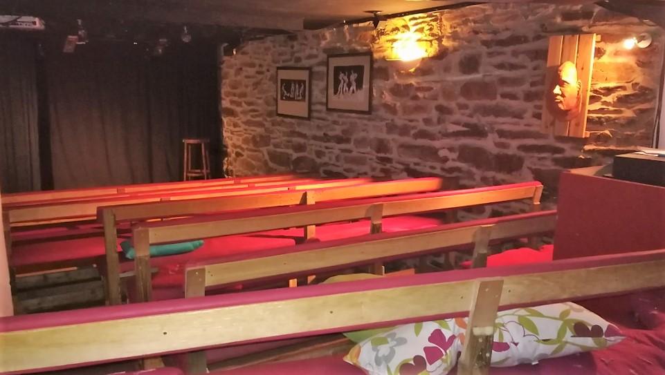 salle de café-théâtre le bacchus rennes